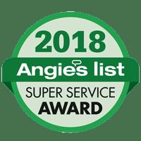 Angie's List Super Service Award 2018 logo