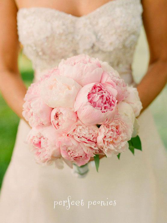 bouquet de mariée - crédit photo Perfect peonies