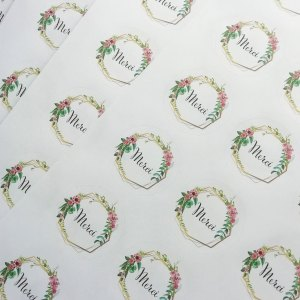 stickers Mariage merci