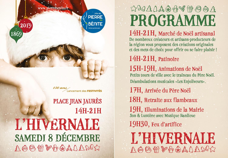 Marché de Noël 8 Décembre 2018 à Pierre Bénite