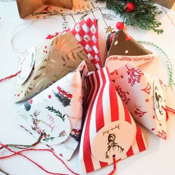 Berlingot de Noël - série rouge
