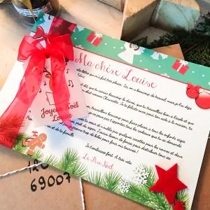 Lettre réponse du Père Noël