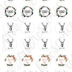stickers Joyeux Noël