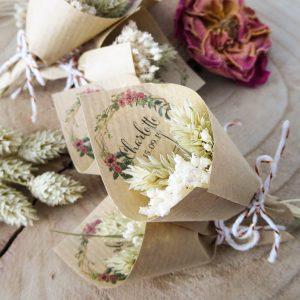 Bouquet séché mariage Bohème