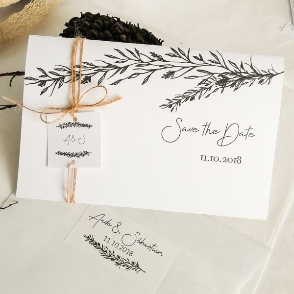 faire part mariage collection Brindille