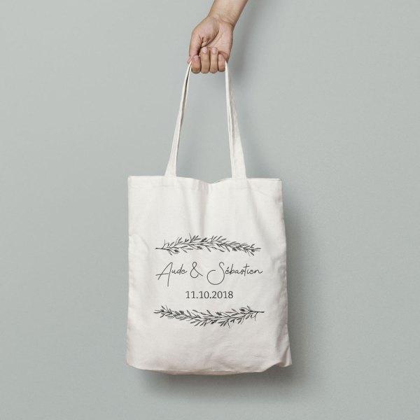 tote bag thème Brindille