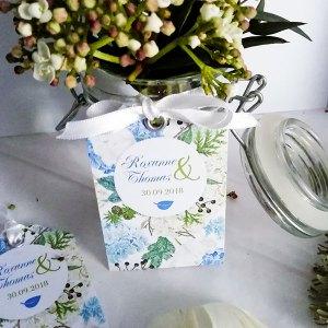 étiquette mariage Hortense