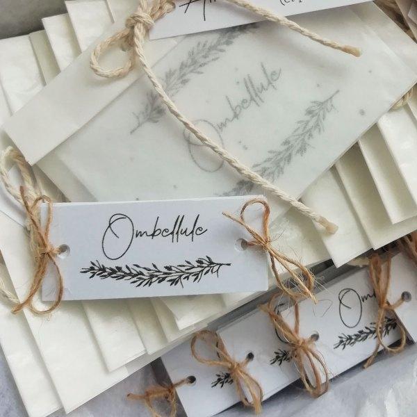 étiquettes mariage Brindille