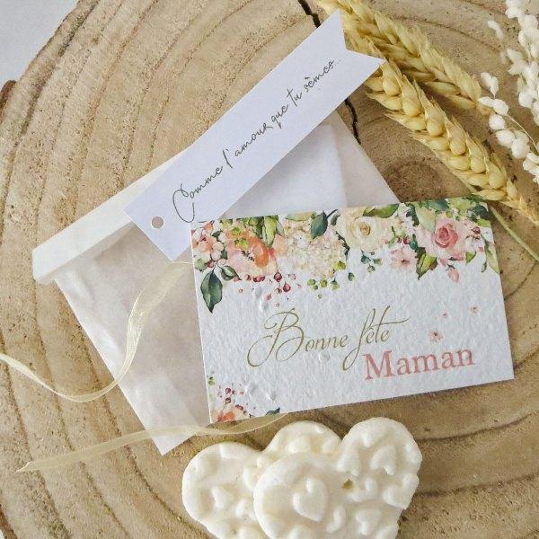 carte à planter Bonne fête Maman