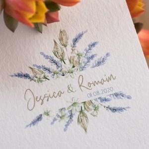 Logo mariage Lavande et Nigelle