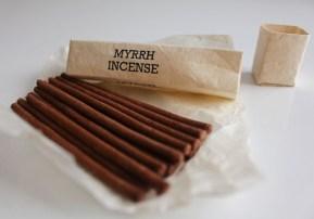 encens népalais à la myrrhe