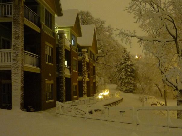 winter evening photo of Arbco