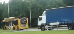 Garrison pics - Lorry and bus