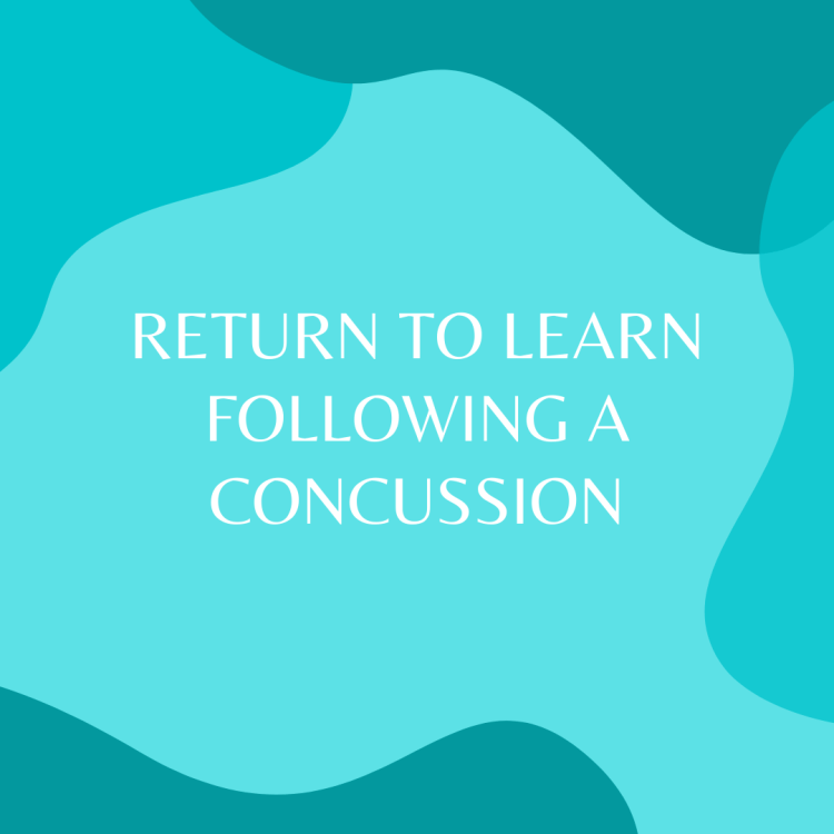 Return to Learn Following A Concussion (Online Article)