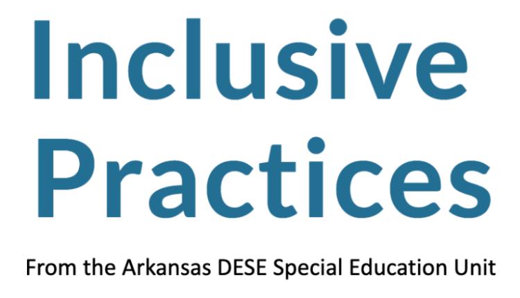 Inclusive Practices DESE