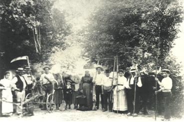 une photo de 1904 qui évoque le passé paysan de ma famille