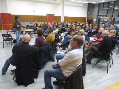 Regards croisés sur le climat - Beaulieu 2015 : Le public composé d'une soixantaine de personnes.