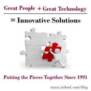 Great People + Great Technology = Innovative Solutions