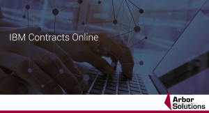 IBM Contracts Online