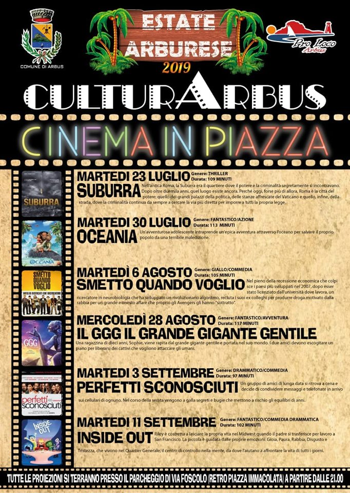 Cinema in Piazza 2019