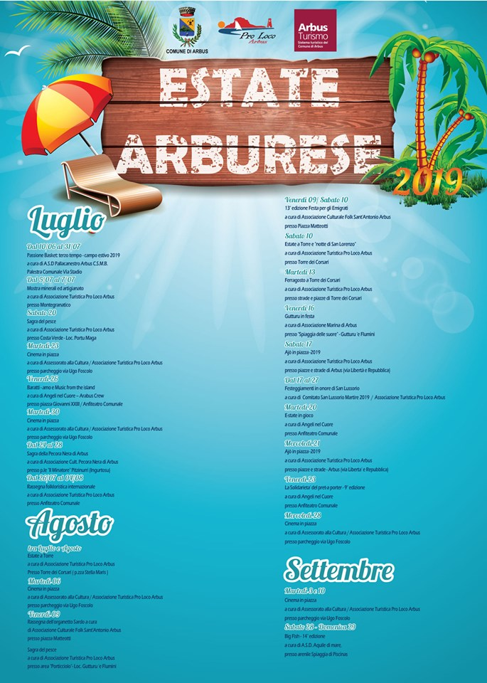 Estate Arburese 2019