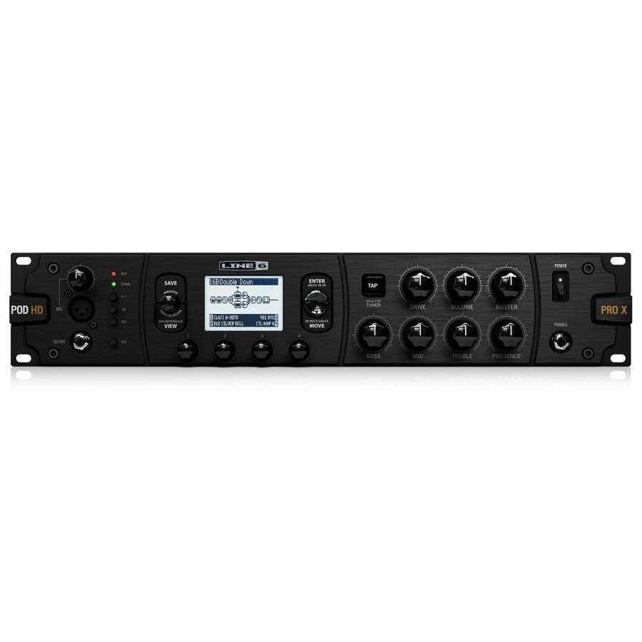 line 6 pod hd pro x guitar effects rack processor