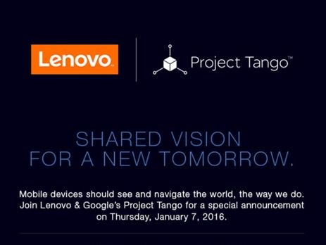 Tango Project lenovo