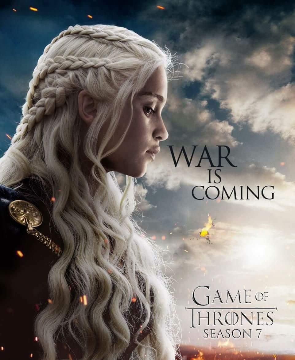 موعد الحلقة الأولى من الموسم السابع لمسلسل Game Of Thrones