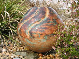 These beautiful water features are made by Cornwall based artist, Katrina Trinick