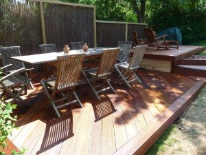 Hardwood decking, Landscaping, Garden design garden makeover Fencing Tree surgery Paving patio Brighton & Hove Sussex