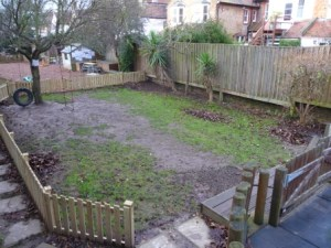 The muddy patch that had seen beeter days