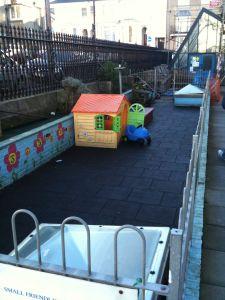 Old nursery play area