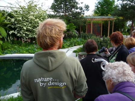 Show garden at Chelsea