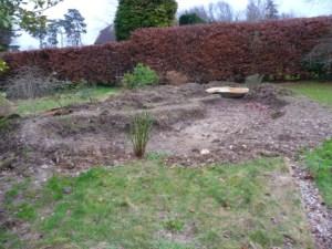 Start o fteh pond build