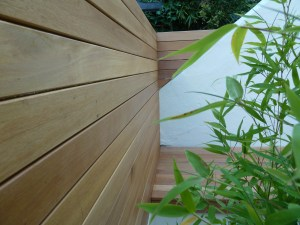 Balau hardwood decking Hove brighton Sussex
