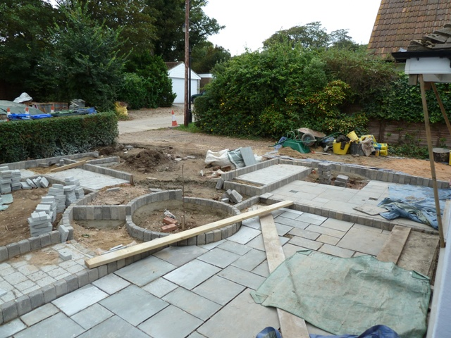 Arbworx : The Paving Coming Along Nicely