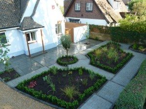 Arbworx : New Front Garden with Driveway