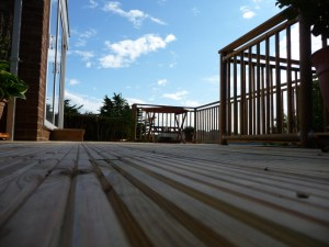 Decking terrace by Arbworx, Worthing