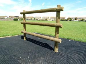 Solid timber climbing bars