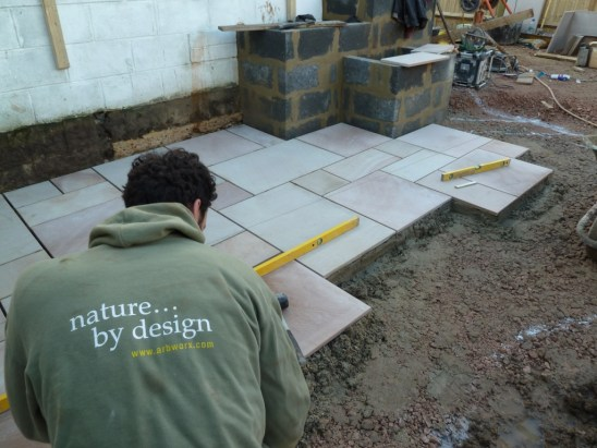 bricklaying paving carpentry skilled landscaper