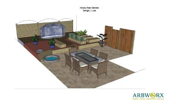 rendered plan delivered by Arbworx
