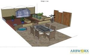 Design plan for full makeover to low maintenance garden