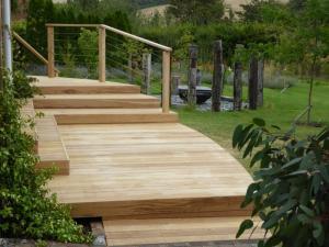 Arbworx Oak deck Sussex