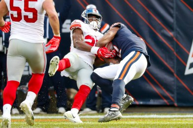 7 Giants to blame in lackluster 19-14 loss to Bears: Pat Shurmur is disastrous, Saquon Barkley is (still) ... off - nj.com