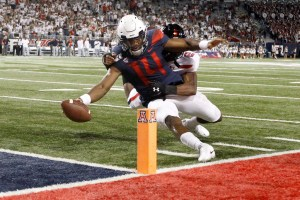 Khalil Tate, Arizona grind out 28-14 win against Texas Tech