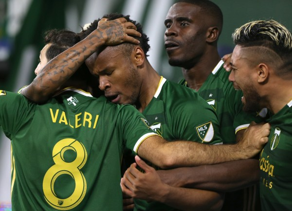 Portland Timbers end goal scoring drought, but settle for 2-2 draw with New England Revolution