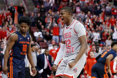 How E.J. Liddell showed a glimpse of his future as an Ohio State basketball player against No. 23 Illinois - cleveland.com
