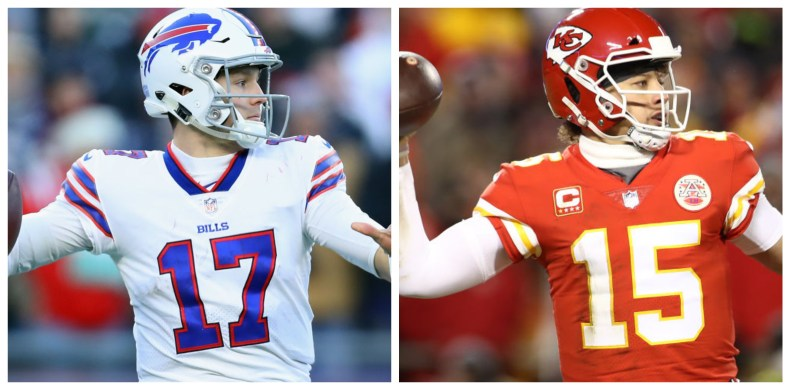 Patrick Mahomes gave number Josh Allen needs to hit to win ...