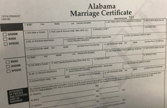 Image result for New Alabama Marriage Laws Make It Easier To Get Married