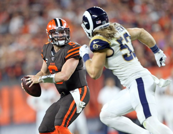 Baker Mayfield discusses Sunday